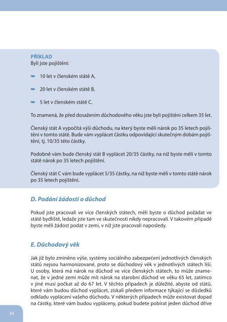 Předpisy EU v oblasti sociálního zabezpečení - Česká správa ...
