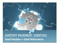 airport pavement jointing - American Concrete Pavement Association