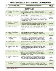 AKUNTANSI - DIGITAL LIBRARY - FAKULTAS EKONOMI UII