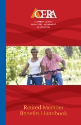 Retired Member Benefits Handbook - LACERA