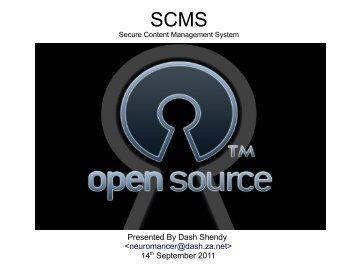 SCMS - DASH