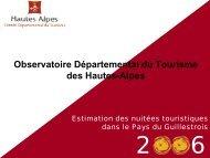 pdf - 96 ko - Observatoire du Tourisme