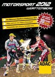 Motorsport 2012 - ADAC