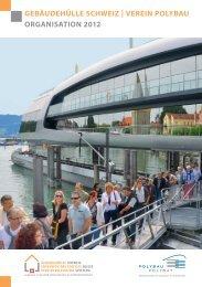verein polybau organisation 2012 - Gebäudehülle Schweiz