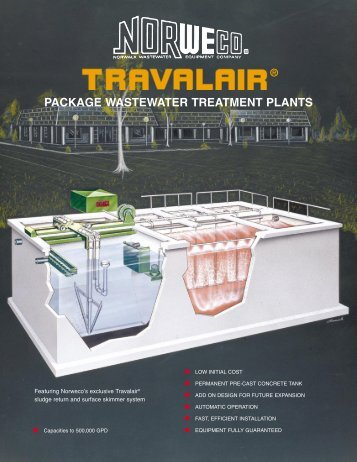 PACKAGE WASTEWATER TREATMENT PLANTS - Norweco