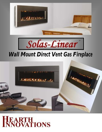 Solas Linear Brochure - Hearth Innovations