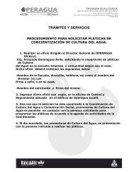 TRÁMITES Y SERVICIOS - Ayuntamiento de Cuautitlán Izcalli