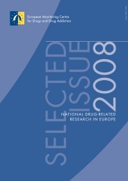NATIONAL DRUG-RELATED RESEARCH IN EUROPE