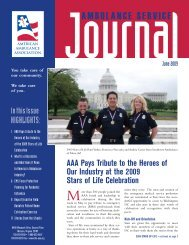 June 2009 - American Ambulance Association