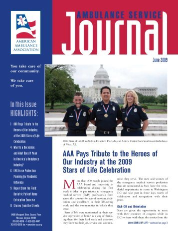June 2009 - American Ambulance Association