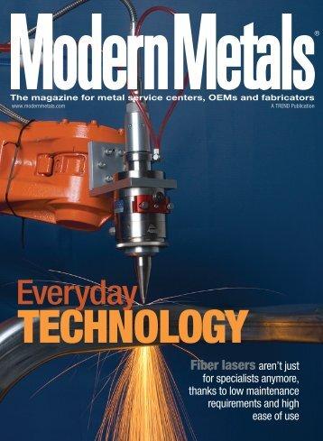 PDF: Modern Metals, February 2009 - Wayne Trail