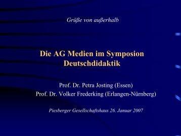 Texte Medien - AG-Medien