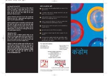 Condom leaflet - ViiV Healthcare