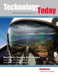 Technology Today issue 1 2008 - Raytheon