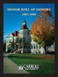 Oct. pioneer/AR 2004 - Carroll University