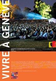 Magazine Vivre à Genève no 36 - Ville de Genève