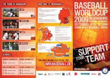 Please use the following parking facilities - Baseball WM 2009