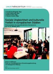 Soziale Ungleichheit und kulturelle Vielfalt in - Paulo Freire Zentrum
