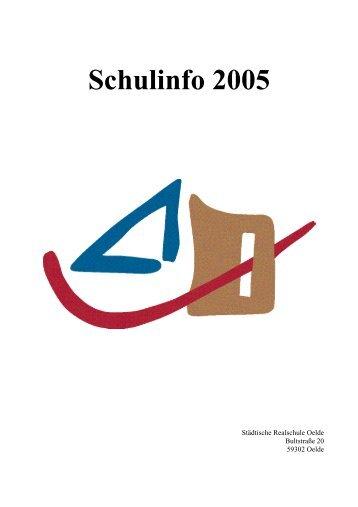 RSO-Info 12/2005 - Realschule Oelde