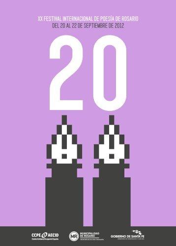 Programa de la edición 2012 - Secretaría de Cultura y Educación