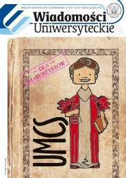 Marzec - wydanie dla maturzystów - Zeus - strona główna - Lublin