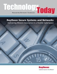 The Benefits of Multi-Level Security - Raytheon