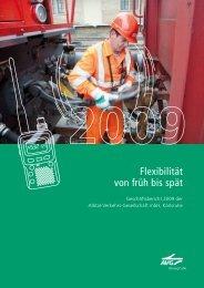 Geschäftsbericht 2009 - Albtal Verkehrs Gesellschaft mbH