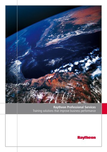 Raytheon Professional Services Overview