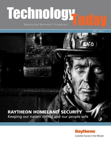 Technology Today 2007 Issue 1 - Raytheon
