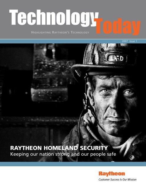 Technology Today 2007 Issue 1 - Raytheon