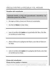 Libro de actividades de articulación con el hogar - Sector Lenguaje ...