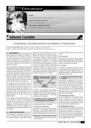 Informe Contable - Revista Asesor Empresarial