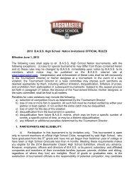 98-99 tournament rules - Bass