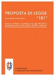PROPOSTA di LEGGE '181' - Il Sole 24 ORE