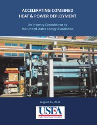 Accelerating Combined Heat & Power Deployment - United States ...