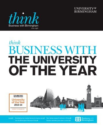 Think Business Issue 6 - PDF 647KB - University of Birmingham