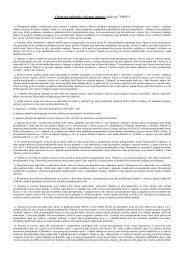 Všeobecné podmínky nájemní smlouvy (dále jen