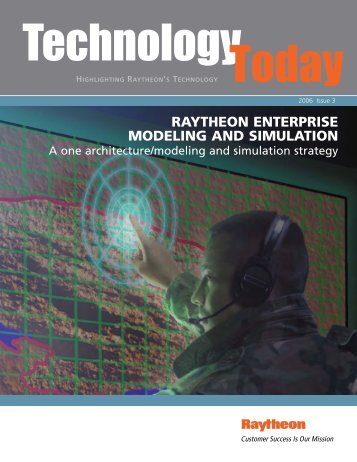 Technology Today 2006 Issue 3 - Raytheon