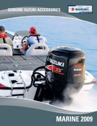 Genuine Suzuki Accessories - suzuki marine