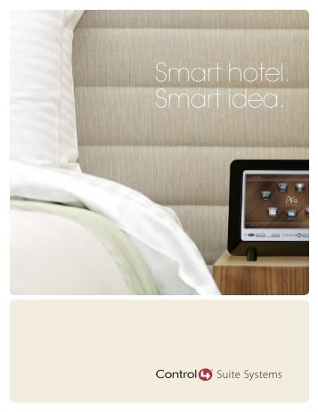 Smart hotel. Smart idea. - Hospitality Technology