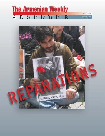 Armenian Weekly April 2011 Magazine