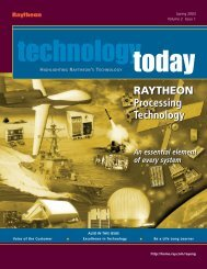 Highlights - Raytheon