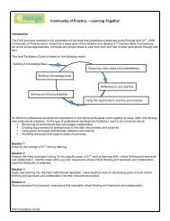 Facilitation Guide for DVD - Alberta 1:1 Wireless Learning ...