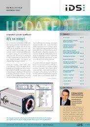 FaxAntwort an +49(0) - IDS Imaging Development Systems GmbH