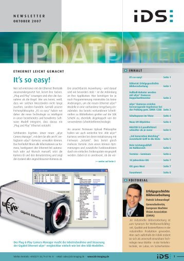 FaxAntwort an +49(0) - IDS Imaging Development Systems GmbH