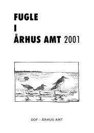 Fugle i Århus Amt 2001 - DOF Østjylland