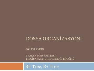Dosya organiz - Trakya Üniversitesi