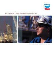 2004 Corporate Responsibility Report - Chevron