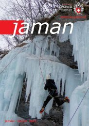 janvier - février 2013 www.cas-jaman.ch - Club Alpin Suisse Section ...
