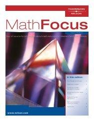 Math ON K-8 24pg Brochure FINAL - Nelson Education